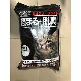 Cát Vệ Sinh Cho Mèo - Cát Nhật 15L