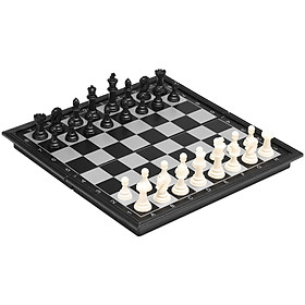 Magnetic Chess Set Folding Plastic Chessboard Lightweight Board Educational Toys Parlor Game Outdoor Portable