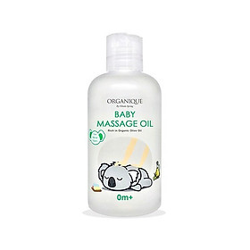 Dầu massage em bé Organique Baby