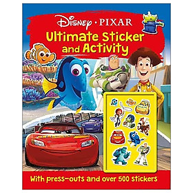 Disney Pixar - Mixed: Ultimate Sticker and Activity (Ultimate S & A Fun Xtra Disney)