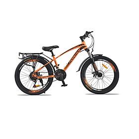 Xe đạp địa hình hiệu Fornix, FT24, vòng bánh 24'', màu Cam đen