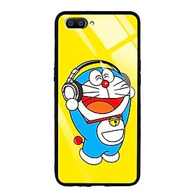 Ốp Lưng Kính Cường Lực cho điện thoại Realme C1 - 03040 7863 DRM07 - Doremon - Hàng Chính Hãng