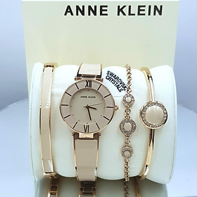 Bộ đồng hồ và vòng tay ANNE KLEIN 3514BHST