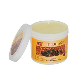Dầu hấp dưỡng tóc LK tinh chất Collagen Mật Ong 500ml - 1000ml (Bee Colagen Repair Hair Treatment)-1