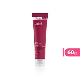 Kem dưỡng ẩm chống nắng phục hồi da chống oxy hóa Paula's Choice Skin Recovery Daily Moisturizing Lotion SPF 30 60ml