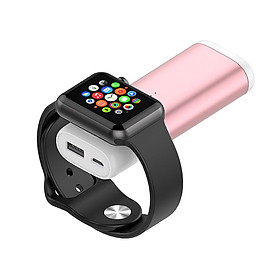 Pin sạc dự phòng cho Apple Watch 5200mah Promax WP83 (Black) - Hàng nhập khẩu