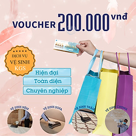 [E-Voucher] Phiếu quà tặng Voucher Dịch vụ Vệ sinh 200.000 VNĐ áp dụng Toàn bộ Dịch vụ Vệ Sinh Không Gian Sạch - Tổng đài miễn phí 18006248 để đặt hẹn