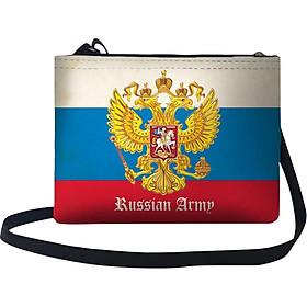 Túi Đeo Chéo Nữ In Hình Russian Army - TUAM003