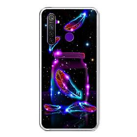 Ốp lưng điện thoại Realme 5 Pro - Silicon dẻo - 0433 LONGVU03 - Hàng Chính Hãng