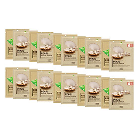 Hình đại diện sản phẩm Combo 10 Gói Mặt Nạ Mijin Ngọc Trai Mijin Pearl Essence Mask + Mijin Lô Hội Mijin Fresh Aloe Essence Mask