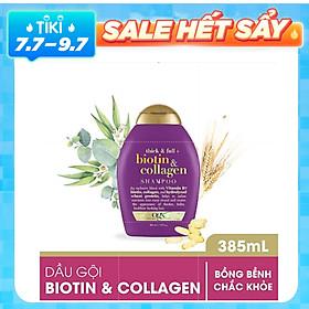 Dầu Gội OGX Thick Full Biotin & Collagen Shampoo 385ml