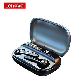 Lenovo QT81 TWS Tai nghe không dây BT Tai nghe bán trong tai Tai nghe thể thao không thấm nước Tai nghe chống thấm mồ hôi với màn hình hiển thị kỹ thuật số
