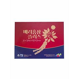 Nước Hồng Sâm Quả Mọng Cung Cấp Collagen Và Vitamin Berry Red Ginseng Plus 360g (12g x 30 gói) Hàng Nhập Khẩu Cao Cấp