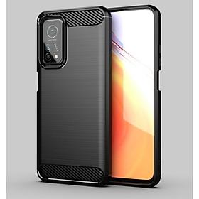 Ốp lưng chống sốc Vân Sợi Carbon cho Xiaomi Mi 10T Pro