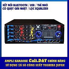 AmplyBluetooth Karaoke gia đình 16 sò lớn Cali.D&Y PRO 999D - Hàng chính hãng