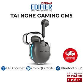 Tai nghe bluetooth 5.2 gaming EDIFIER HECATE GM5 40 giờ phát nhạc Khử tiếng ồn - Hàng chính hãng