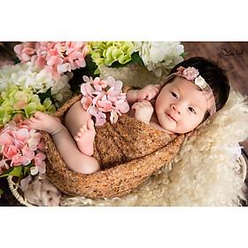 Gói chụp ảnh cho bé sơ sinh tại nhà của gia đình - Gói Chuột vàng