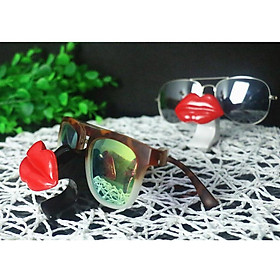 Female Red Lips Glasses Sunglasses Spectacle Display Stand Holder