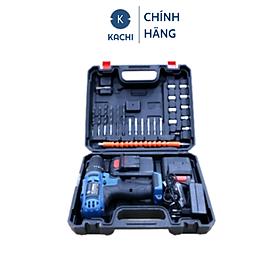 Bộ Máy Khoan Bắt Vít Không Dây Dùng Pin 24V Kachi MK247 – Đi Kèm 1 Pin - hàng chính hãng