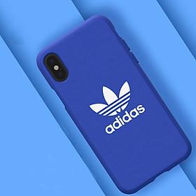 Hình đại diện sản phẩm Ốp Lưng Silicone Dành Cho Iphone X Adidas - Xanh Dương
