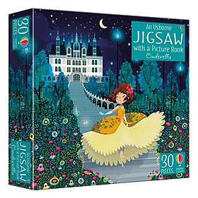 Usborne Book and Jigsaw Cinderella
