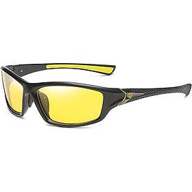 Mắt kính đi đêm thể thao D120 - Vàng