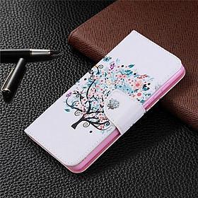 Bao da điện thoại nắp lật dạng ví cho Huawei P30 Lite P 40 Pro P20 P40lite E