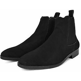 Giày Chelsea Boots Cổ Cao Da Bò Thật Nguyên Tấm Cao Cấp Tefoss HT350 Thời Trang 4 Màu Hot Trend Nhất Size 37 - 43