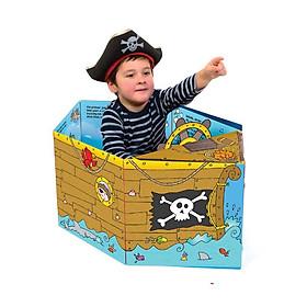 Sách Tương Tác - Convertible - Sách biến hóa mô hình - Pirate Ship - Tàu cướp biển