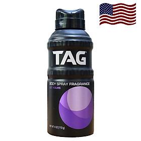 Xịt khử mùi toàn thân Tag USA 113g