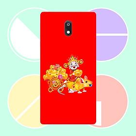 Ốp điện thoại dành cho máy Nokia 3.1 - Chú chuột vàng MS CCV002