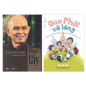 [Download sách] Combo 2 cuốn hay: Hạnh Phúc Cầm Tay + Đạo Phật Vỡ Lòng ( Tặng kèm Bookmark Happy Life)