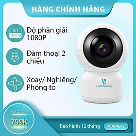 Camera an ninh giám sát trong nhà không dây WiFi 360 HeimVision HM203 1080P- Hàng chính hãng