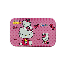 Đồ Chơi - Ghép Hình 3 in 1 - Smile Kitty( 60 mảnh ghép)