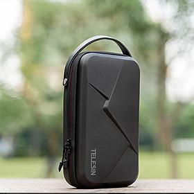 Túi đựng phụ kiện Gopro TELESIN đa năng, chống nước chống va đập, chất liêu PU cao cấp, đựng phụ kiện phục vụ cho camera hành trình (Hàng Chính Hãng)