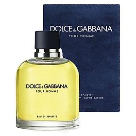 Dolce & Gabbana Pour Homme for Men Eau de Toilette Spray 125mL