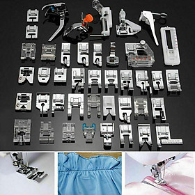 42Pcs/Set Multifunctional Sewing Accessories for Sewing Machine Presser Foot
