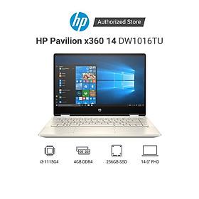 Laptop HP Pavilion x360 14-dw1016TU 2H3Q0PA i3-1115G4 | 4GD4 | 256GSSD | 14.0FHDT | Hàng Chính Hãng