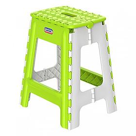 Ghế nhựa loại dầy xếp loại lớn cao cấp ( Giao màu ngẫu nhiên)