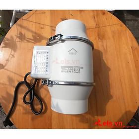 Quạt hút thông gió đường ống tròn Silent Phi 100mm,150mm cực mạnh