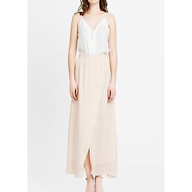 Chân Váy Dài Xẻ Tà Màu Hồng The Cosmo Slit Skirt (Sakura)