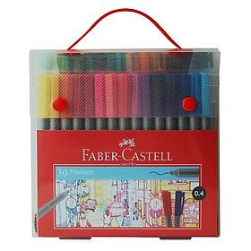 Bút dạ kim nắp kẹp-hộp quà tặng 30 màu Faber 150730