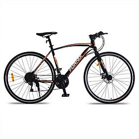 Xe đạp thể thao Fornix FR-303 Mẫu mới 2020 - Đen cam - 700C