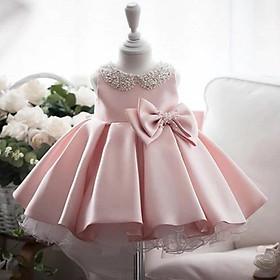 Đầm công chúa voan sang trọng cho bé từ 1- 12 tuổi