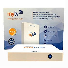 Hộp Android tivi box MyTVNet Net 1- Phiên bản Ram 2G, Rom 16 G tặng kèm chuột Vinagear- Hàng chính...