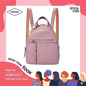 Balo nữ nhỏ thời trang Fossil Megan Mini Backpack ZB1342506 - màu tím nhạt