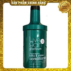 Dầu xả tóc Livegain Premium Silky & Shine Hair Pack suôn mượt nước hoa Hàn Quốc 1200ml