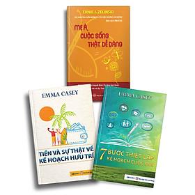 Bộ 3 Cuốn Mẹ à, Cuộc sống thật dễ dàng + Tiền Và Sự Thật Về Kế Hoạch Hưu Trí + 7 Bước Thiết Lập Kế Hoạch Cuộc Đời