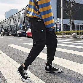 < FREESHIP > Quần jogger kaki túi hộp vải bao đẹp