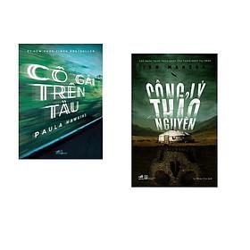 Combo 2 cuốn sách: Cô gái trên tàu  + Công lý thảo nguyên